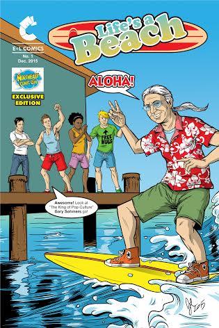 Life's A Beach NECC Exclusive Comic Book