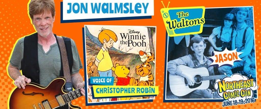 The Waltons Jon Walmsley at NECC