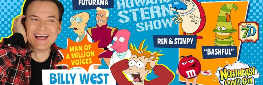 BILLY WEST Coming To NorthEast Comic Con