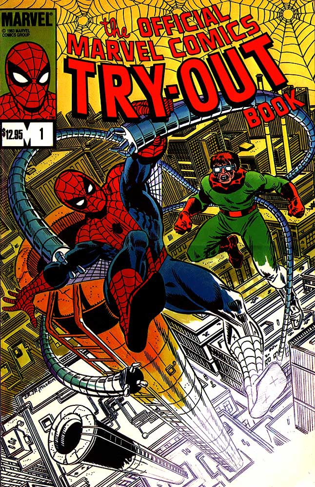 JIM SHOOTER MARVEL TRY-OUT