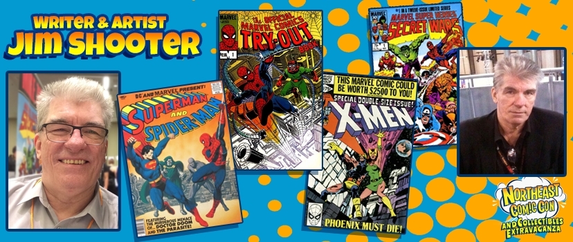 Marvel Comics Legend Jim Shooter at NEComicCon March 3-4