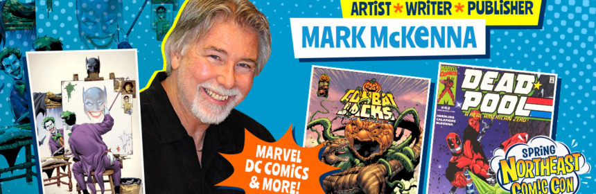 Comic Artist Mark McKenna At NorthEast Comic Con