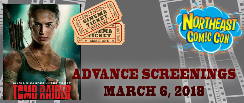 Advance Screenings of Tomb Raider