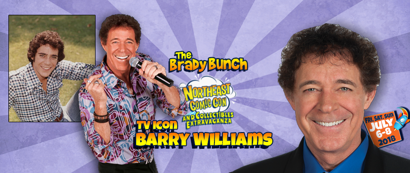 Brady Bunch Barry Williams at NEComicCon July 6-8