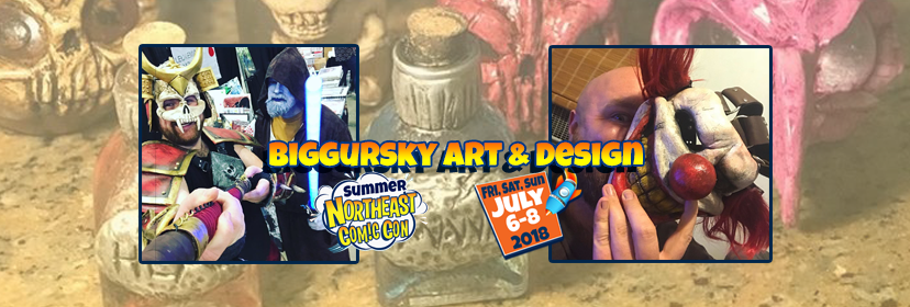 Biggursky Art & Design Brings Their Magic to NEComicCon