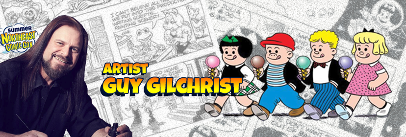 Meet Award Winning Artist Guy Gilchrist at the 2018 Summer NEComicCon