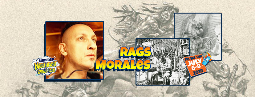 Meet Veteran Illustrator Rags Morales July 2018