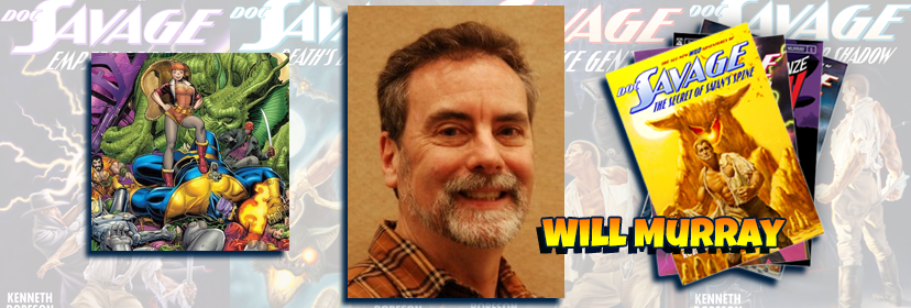 Writer Will Murray at the NorthEast Comic Con Summer Show