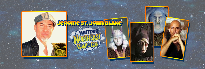 Jerome St. John Blake Leaves the Dark Side of the Force for NEComicCon