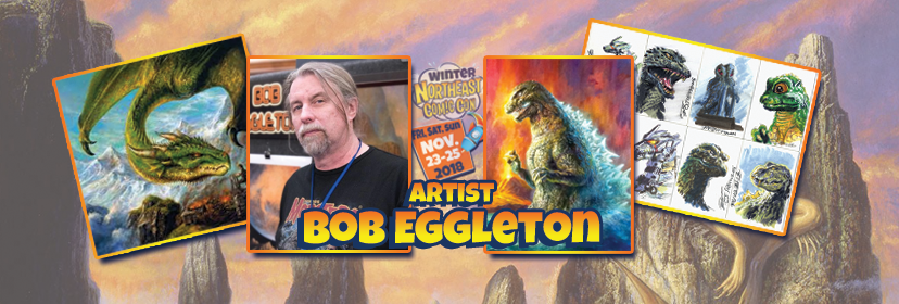 Bob Eggleton Brings Famous Monsters to the NorthEast Comic Con