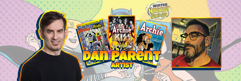 "Dan Parent ""Archifies"" the NorthEast Comic Con this November 2018"