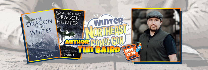 Tim Baird Comes to Boxboro Ma with NEComicCon