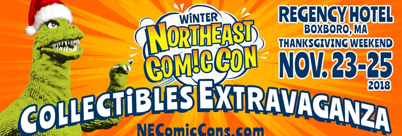 3 Weeks till NorthEast ComicCon & Collectibles Extravaganza
