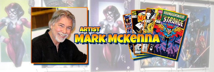 Comic Legend Mark McKenna Visits The NorthEast Comic Con November 2018