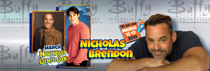 Buffy's Nicholas Brendon at NEComicCon March 15-17