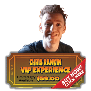 Chris Rankin VIP Experience