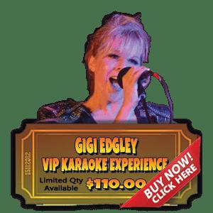 Gigi Edgley VIP Karaoke Experience