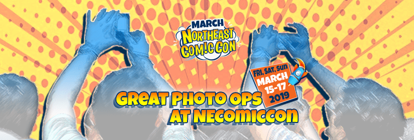 Great Photo Opportunities at NEComicCon
