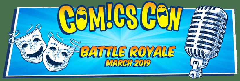 ComicsCon Stand-Up Comedy Battle Royale March 15-17 Boxboro MA