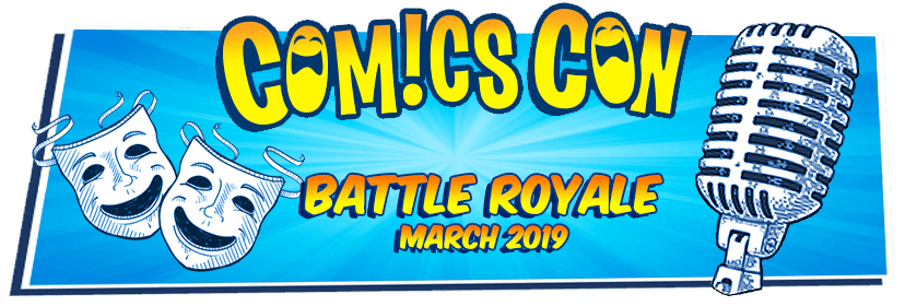 ComicsCon Stand-Up Comedy Battle Royale March 15-17 Boxboro MA