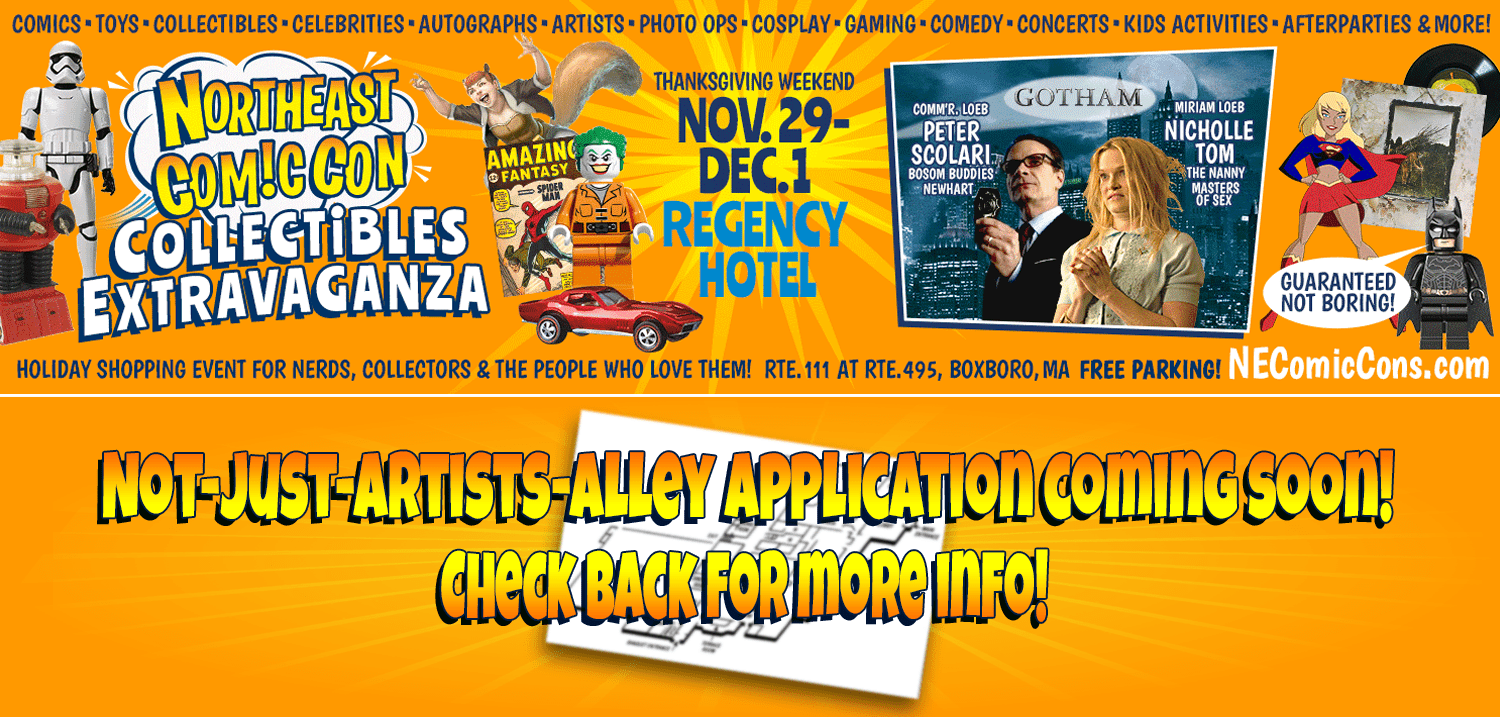 Not Just Artists Alley - November Application Coming Soon