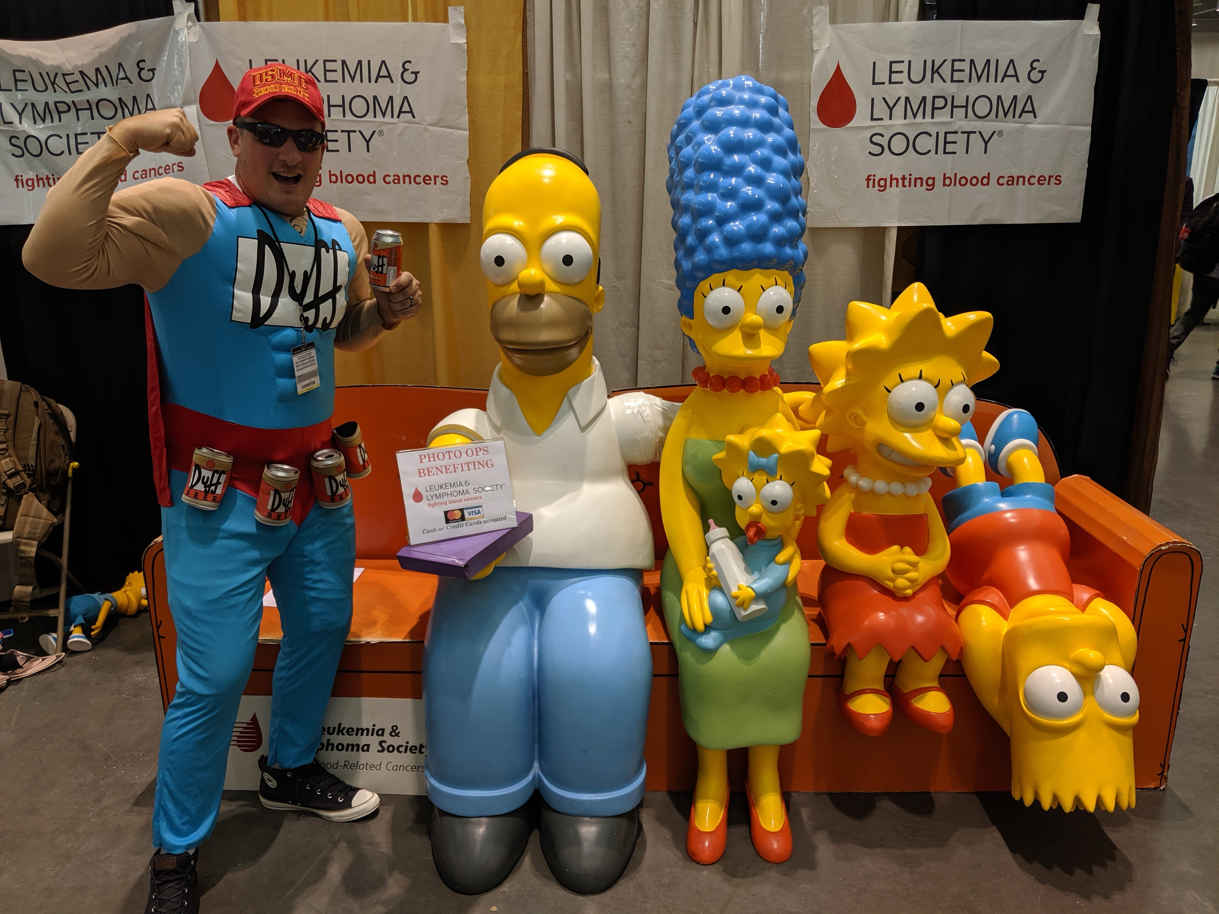 Simpsons Couch Photo Op