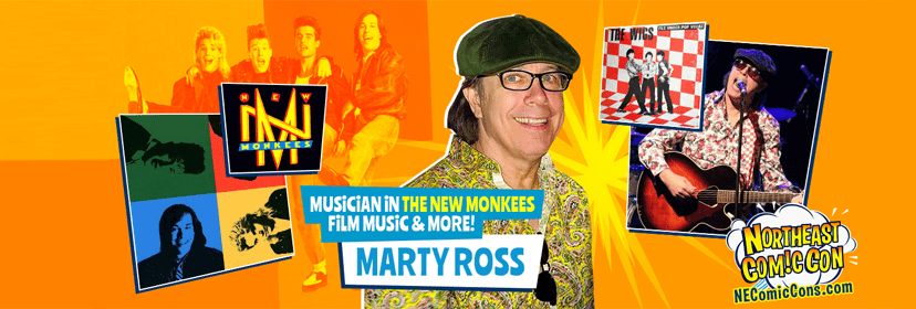 Singer Songwriter Marty Ross at NEComicCon Nov. 29-Dec. 1