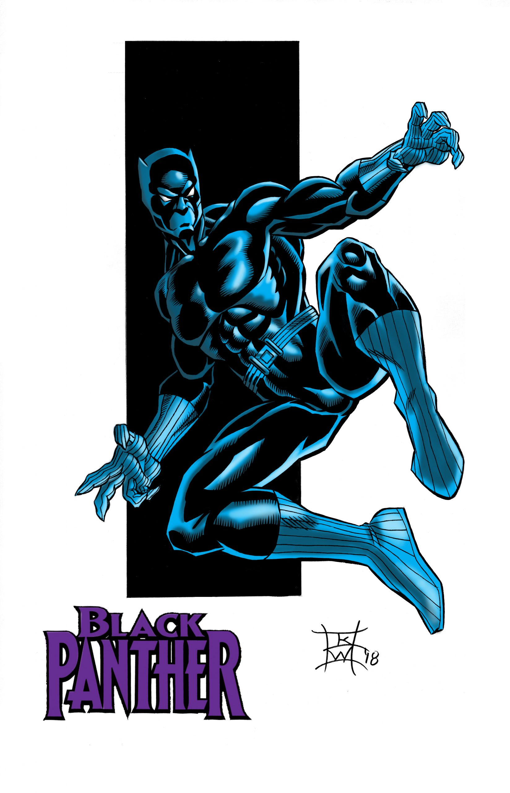 Black Panther by Keith WIlliams
