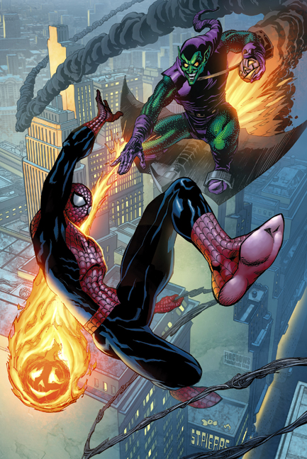 Spider-Man & Green Goblin by Joe. St. Pierre