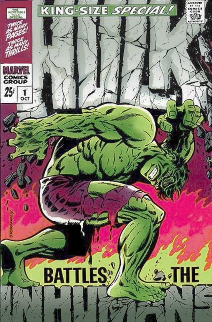 Hulk Special by Jim Steranko