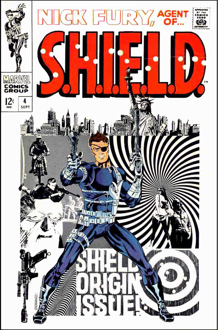Nick Fury Agent of S.H.I.E.L.D by Jim Steranko