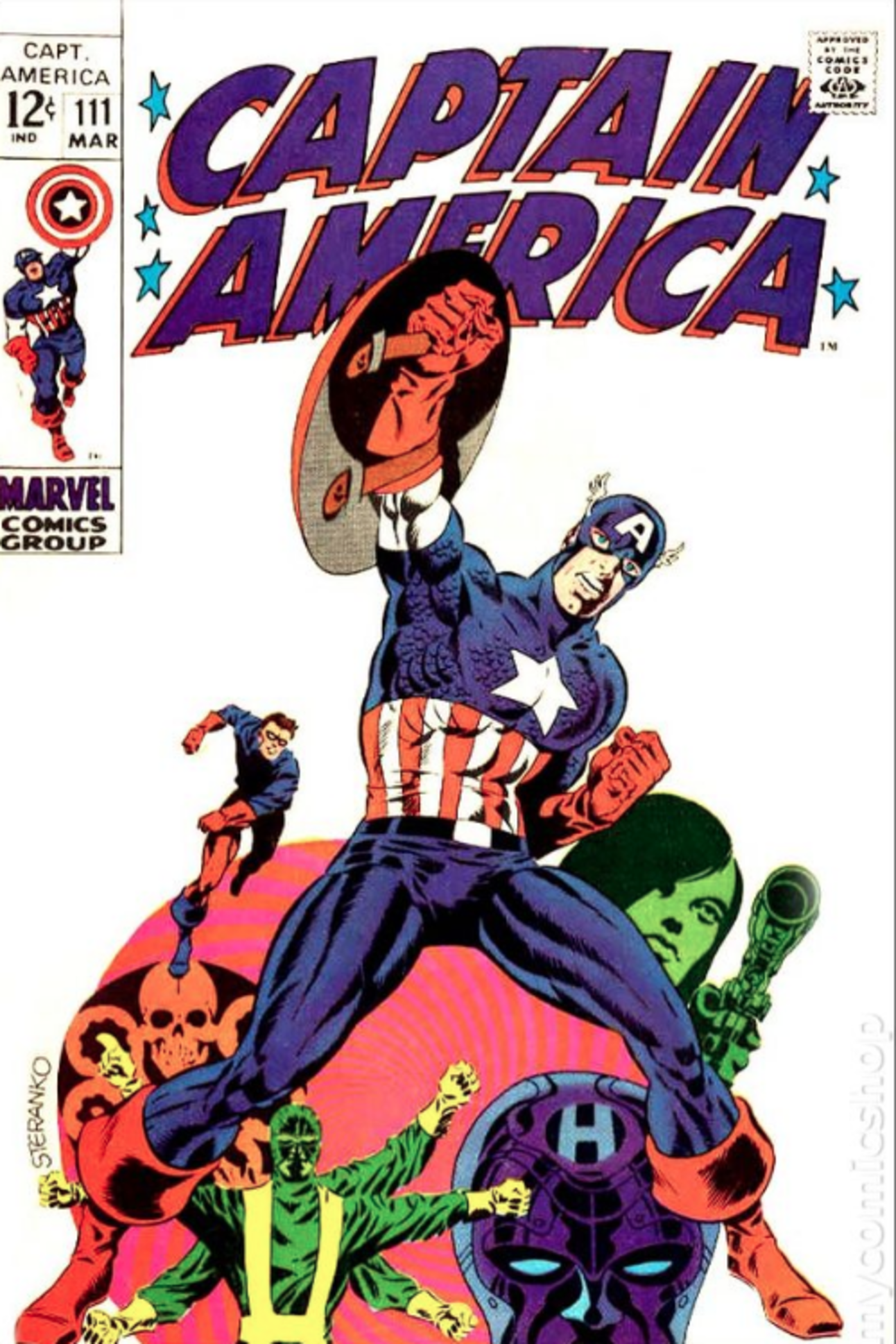 Captain America by Jim Steranko