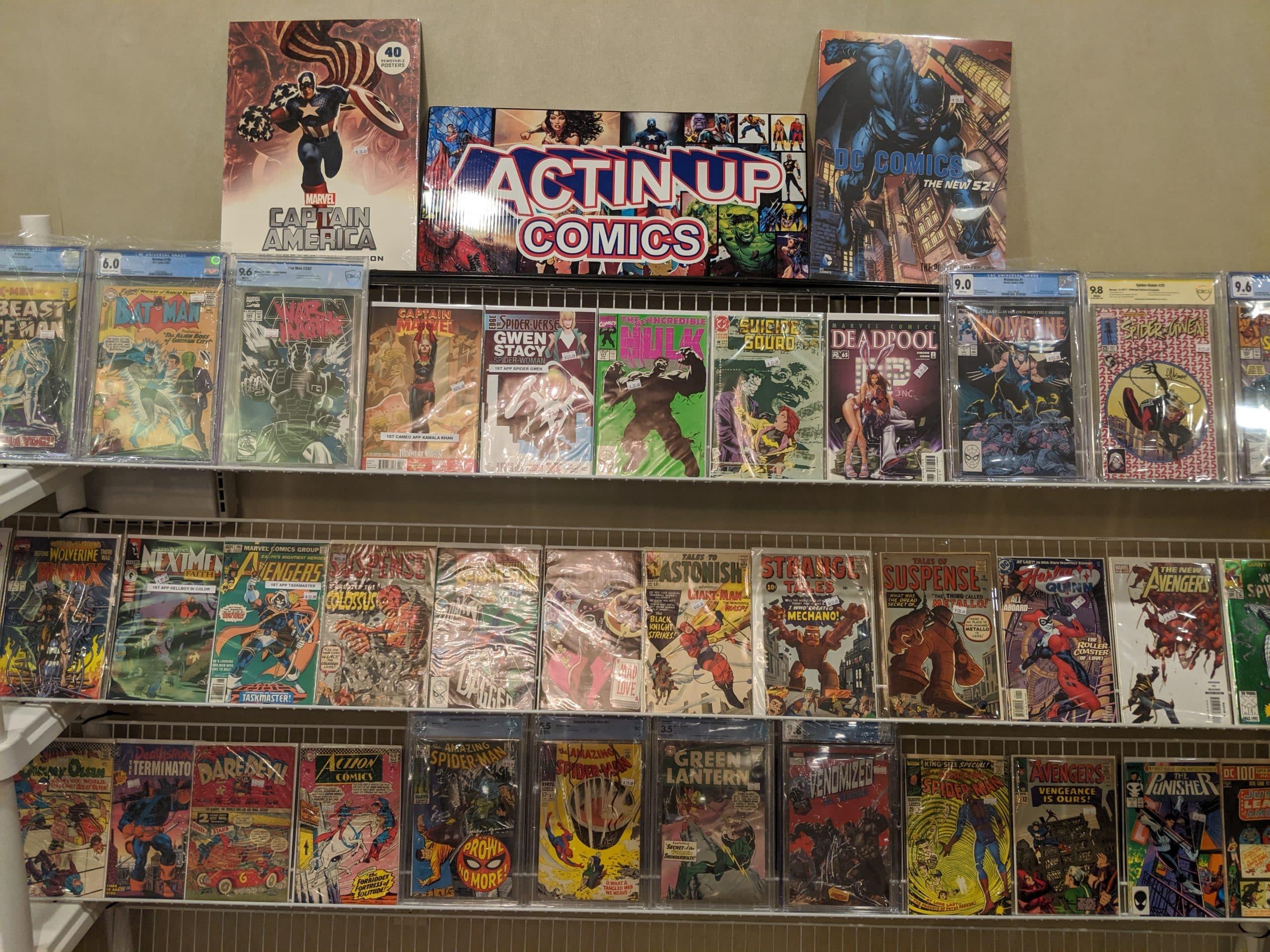 Actin Up Comics