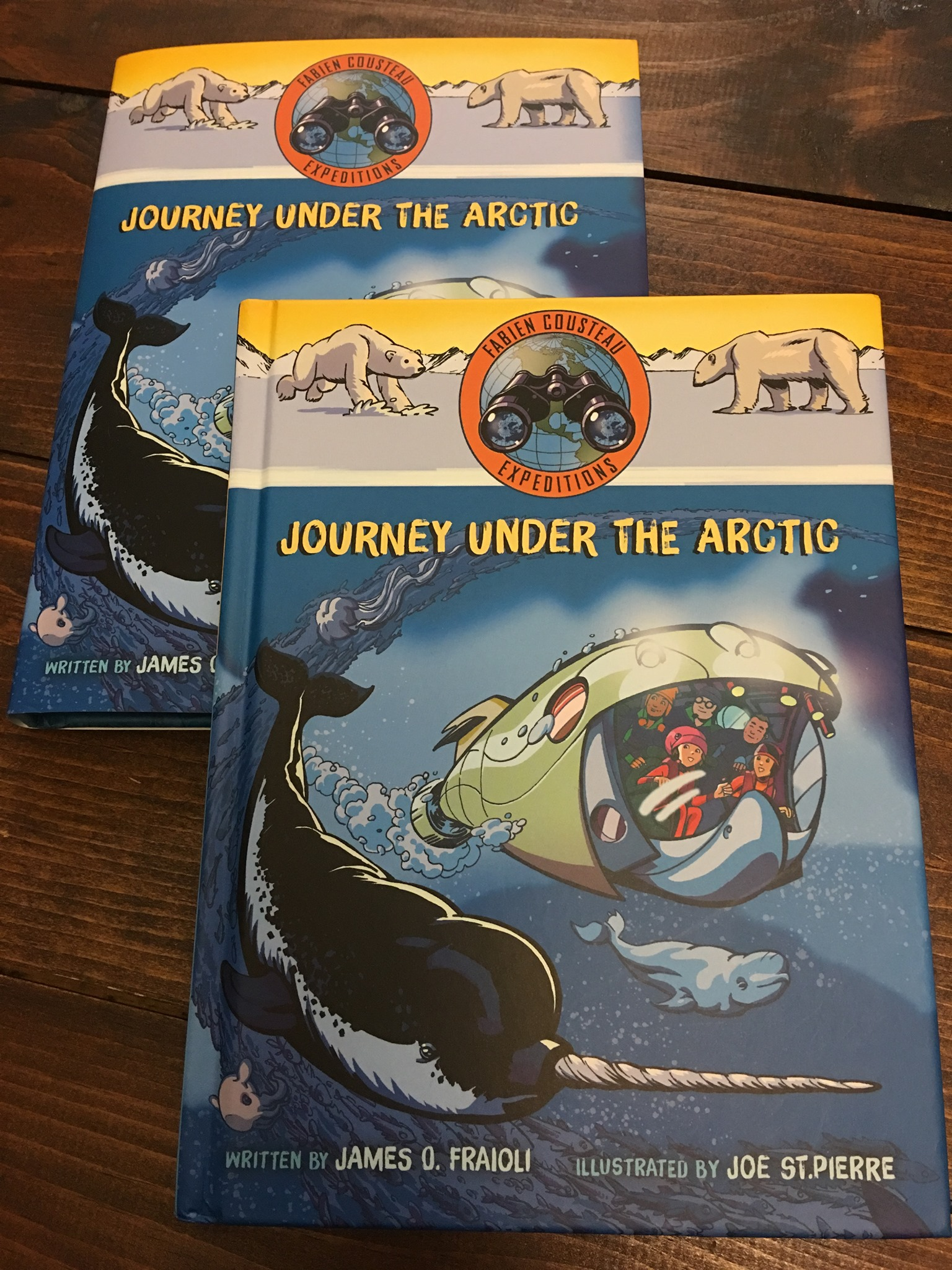 Journey Under The Artic by Joe St. Pierre