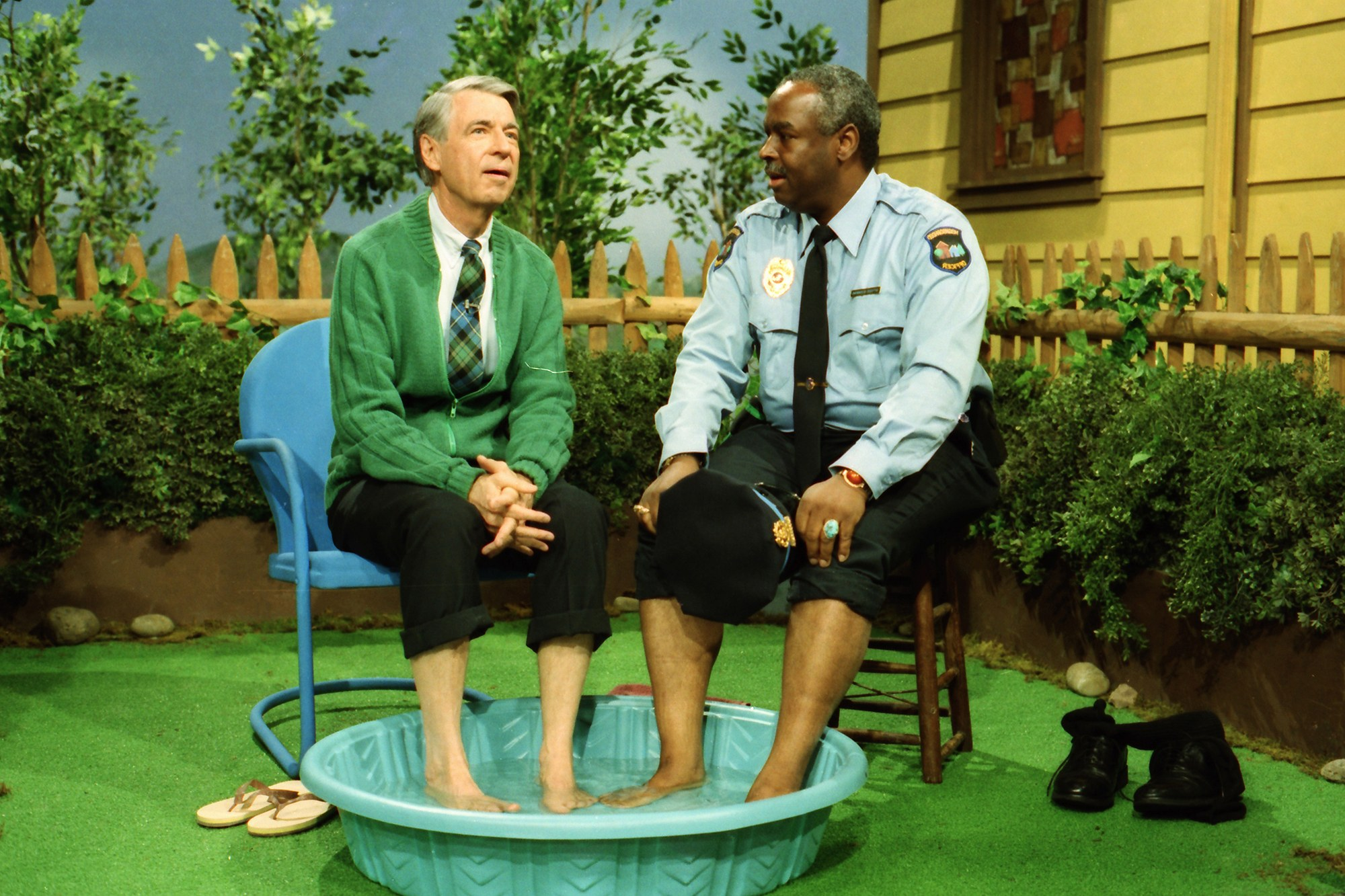 Officer Clemmons From Mr Rogers At Necomiccon March 13 15