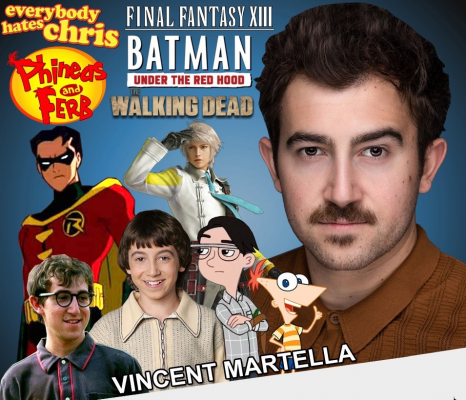 "Vincent Martella ""Phineas"" Voice Actor at NEComicCon March 13-15"