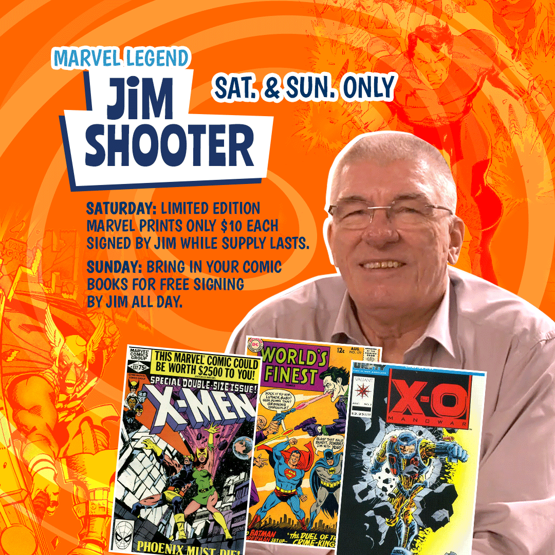 JIM SHOOTER - July 3-4, 2021 show