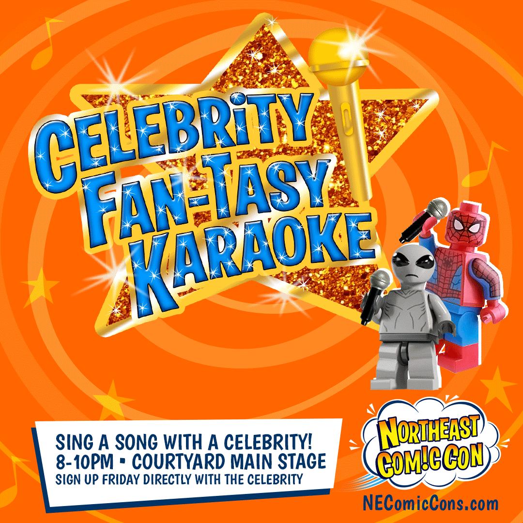 Fan-Tasy Karaoke with the Stars - Friday July 2nd
