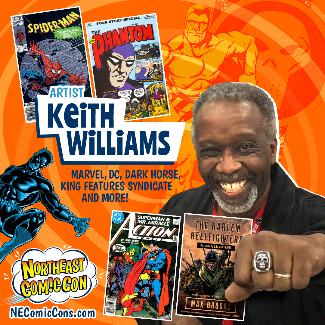 KEITH WILLIAMS - July 2-4, 2021 show