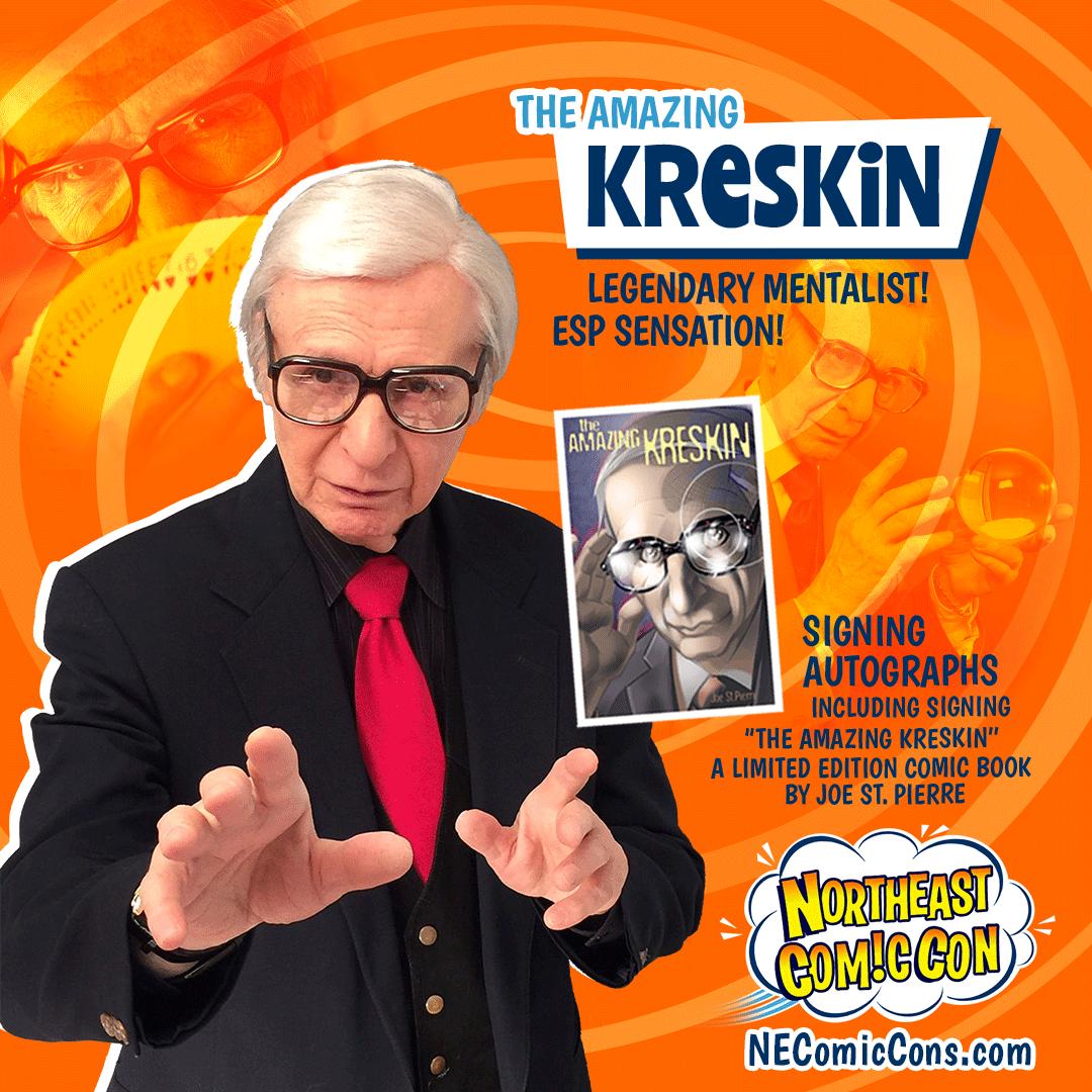 AMAZING KRESKIN - July 2-4, 2021 Show