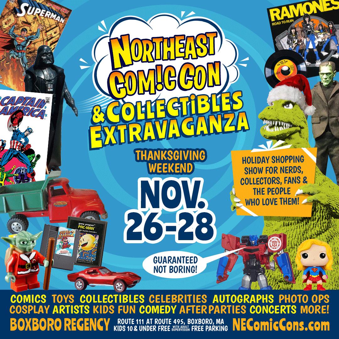 NorthEast Comic Con - November 2021